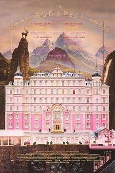 Grand Budapest Hotel - official poster