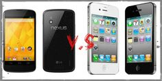 A Comparative Review Of The IPhone 4S And The Google Nexus 4