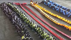 DIY Grad Ribbon Leis | AMANDAMLIM