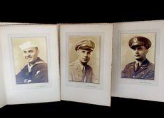 3 Vintage Framed Military Soldier Portrait Photographs 5x7 U s Navy | eBay