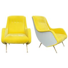 Fantastic Pair of 1950's Armchairs