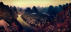 The Karst Mountains of Guangxi  by Clemens Geiger on 500px