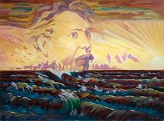 385 - Painting by Oleg Shuplyak Optical Illusion Paintings, Optical Illusions, Oleg Shuplyak, Hidden Images, Magic Realism, Illusion Art, Art Pictures, One Pic, Art Boards