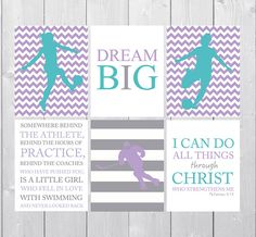 teen girl room decor bible verse art ice hockey girl soccer gift soccer art soccer room decor gift for her girls inspirational art. beautiful ideas. Home Design Ideas