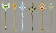 Staff designs 7 by Rittik-Designs on deviantART