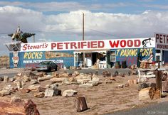 Joe Orman's Photo Pages - Old Route 66 in Arizona: Petrified Forest to Holbrook Route 66 Attractions, Old Route 66, Route 66 Road Trip, Travel Route, Road Trip Usa, Route 66 Arizona, Wall Drug, Back Road, Travel Memories