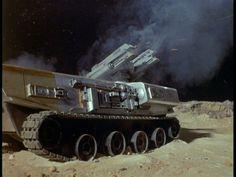 "Moonbase Defenses ""UFO"" series"