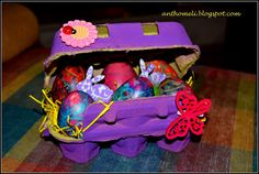 How to: DIY easter eggs painted with threads Visit www.anthomeli.com