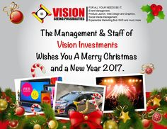 Happy Holidays from all of us at Vision investments. #HolidayMode #VisionInvestments #Christmas #NewYears