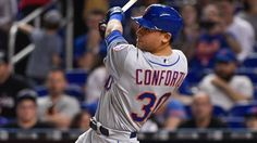 MIAMI — Michael Conforto is facing a critical month.That's about how long Mets officials believe they can keep Conforto in the big leagues as a
