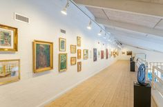 frederikshavn-kunstmuseum og ex Libris samling