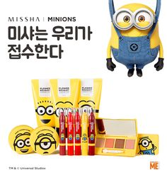 Korean Beauty Meets Minions In This Missha Cosmetic Collection