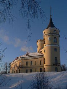 Foteresse Bip - Pavlovsk - Construite en 1798 par Vincenzo Brenna