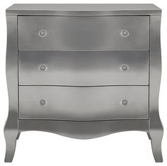 Reese Silver Accent Chest..... LOVE