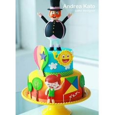 Bolo Mundo Bita Bolo Fack, 4th Birthday, Birthday Cake, Biscuit Cake, Little Cakes, Cakes For Boys, Love Cake, Baby Party, Holidays And Events