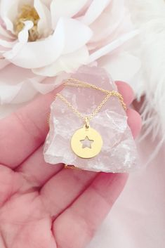 £17 • A beautiful dainty sterling silver gold plated necklace featuring our sterling silver gold plated star charm which symbolises hope, luck and guidance. Wear this necklace alone for minimal styling or layer with other lengths to create a stylish boho look. Dainty Gold Jewelry, Copper Wire Jewelry, Delicate Gold Necklace, Gold Plated Necklace, Wire Wrapped Jewelry, Sterling Silver Bracelets, Layered Jewelry, Handmade Copper, Minimalist Necklace