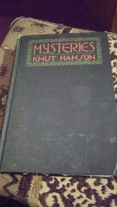 Mysteries By: Knut Hamsun Hardback 1927 | Books, Antiquarian & Collectible | eBay!