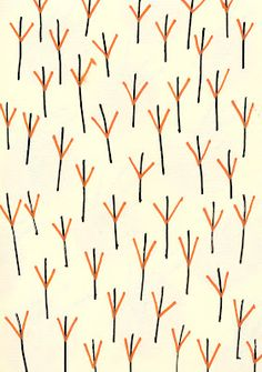 Pattern Print and Repeat Inspiration // Ana Sender