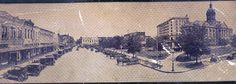 Here's an old panorama of the Downtown Tyler Square.
