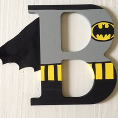 SALE TODAY ONLY Superhero Wooden Letters Wall by ArtsyAutly