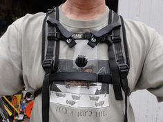 GoPro camera chest mount for Camelbak style