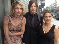 Norman looks so good in all black
