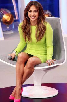 Jennifer Lopez Heels | Jennifer Lopez during an appearance on Melhor Do Brasil . Photo:Splash