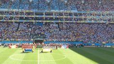 Itaquerao, Copa do Mundo = Argentina e Suíça
