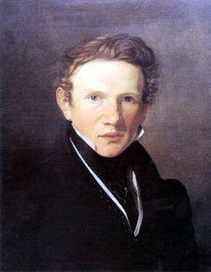 Wilhelm Bendz (Danish:1804 – 1832) - Self portrait 1826