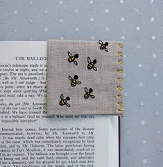 Hey, I found this really awesome Etsy listing at https://www.etsy.com/listing/548702532/hand-embroidered-linen-corner-bookmark