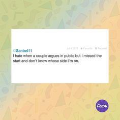De seguro algunos se sentirán identificados   #lol #omg #couple #crazy #funny #tweet #freshrevista