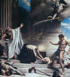 The Martyrdom of Saint Denis (1885), Léon Bonnat