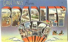 Bradley Beach Postcard