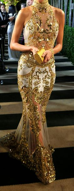 Zuhair Murad Embroidered Gown