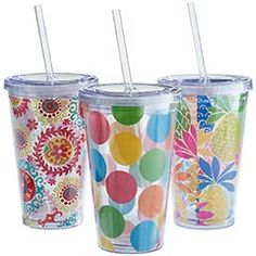Pier One double wall acrylic tumblers $8.95 each