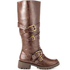 Ringer heels Dark Brown brand heels Mojo Moxy