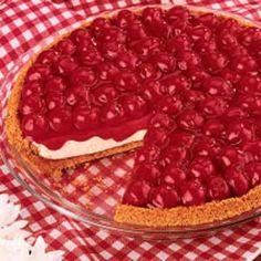 * No Bake Cherry Cheesecake