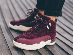 dea876426a83ed Air Jordan 12 Bordeaux On-Feet Air Jordans Women