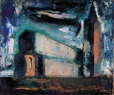 La grande Chiesa (1945) Mario Sironi