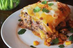 Share This Post!So this taco casserole is one of those dinners that I make pretty often at our house. It's quick and it's enough to feed the 4 of us and have leftovers too! (This taco casserole also freezes great!) It's got all the yummy taco toppings inside and you can add in or top it with pretty much anything else you like! Even my 18 month old eats this taco casserole like a champ! It's layers of cheese, tortillas, and a yummy salsa and sour cream sauce! So here's how you make it: Here's…