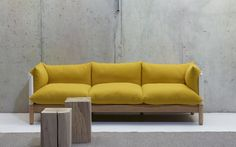 Tepee sofa by Lucy Kurrein for SCP