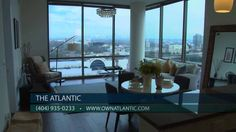 The Atlantic - Luxury Condos in Midtown Atlanta - YouTube