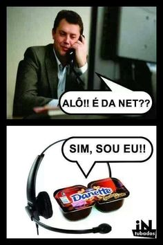 É da Net? KKKKKKK pq eu ri disso caraleo >. Funny Cartoons, Funny Memes, Hilarious, Jokes, Bad Puns, Memes Status, Little Memes, Best Memes, Funny Photos