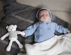 new baby cotton hooded cardigan by the little tailor | notonthehighstreet.com