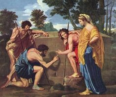 "Nicolas Poussin, ""Et in Arcadia ego"" 1628-1630"