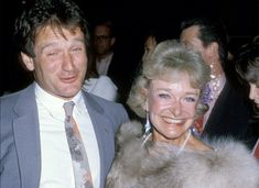 Robin Williams and his mother