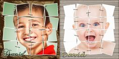 Recursos Photoshop Llanpac: Tutorial Photoshop Español - Diseño plantilla Foto...
