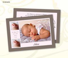 Babykarte zur Geburt