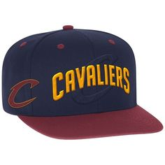 248e4cad61b Men s Adidas Cleveland Cavaliers Draft Snapback Cap ( 28) ❤ liked on  Polyvore featuring men s