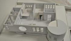 house remodel | main level | interiors | foamcore & mat board